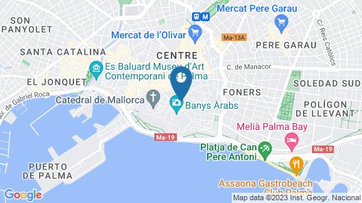 Antigua Palma Casa Noble Map