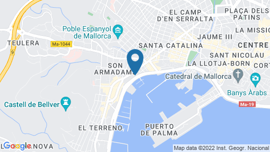 Hotel Palma Bellver Affiliated by Meliá Map