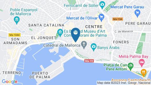 Petit Palace Hotel Tres  Map