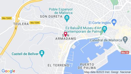 Hotel Isla Mallorca & Spa Map