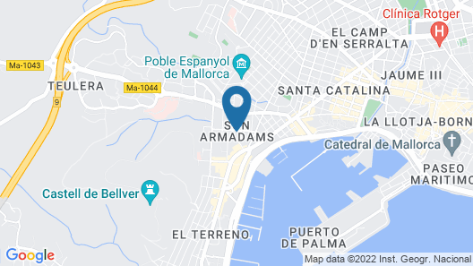 Hotel Isla Mallorca & Spa Map