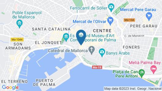 Purohotel Palma Map