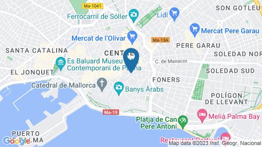 Boutique Hotel Posada Terra Santa Map
