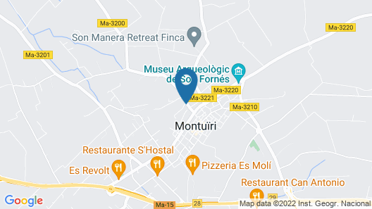 Finca Serena, Small Luxury Hotels Map