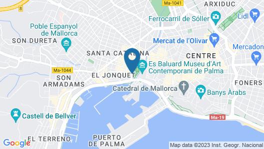Hotel Hostal Cuba Map