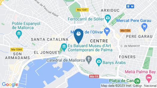 Hotel Almudaina Map