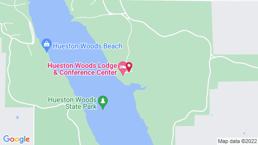 Hueston Woods Lodge & Conference Center Map