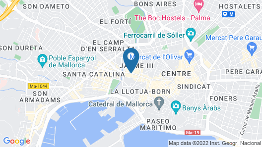 Nakar Hotel Map