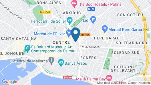 Ca n'Alexandre - Turismo de Interior Map