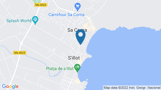 Hipotels Mediterraneo Club Map