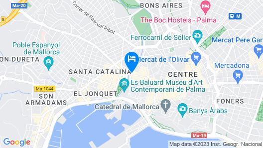 HM Jaime III Hotel Map