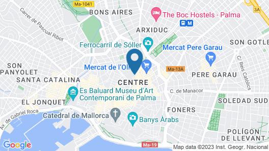 Hotel Convent de la Missió Map