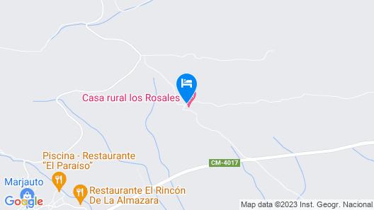 Casa Rural Los Rosales Map