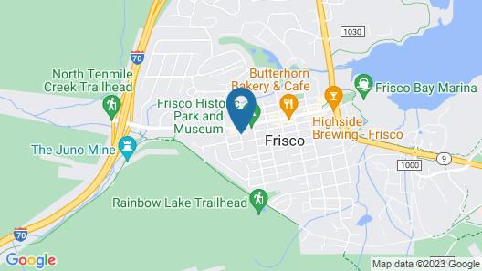 Frisco Condo Collection by Bighorn Rentals Map