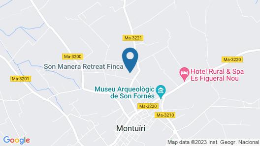Retreat Finca Son Manera Map