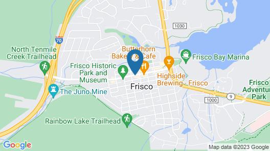 Hotel Frisco Map