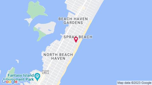 Spray Beach Hotel Map