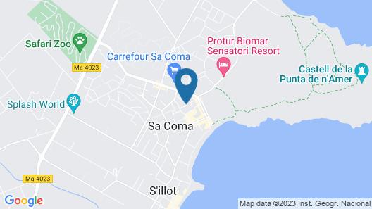 Aparthotel Blue Sea Gran Playa Map