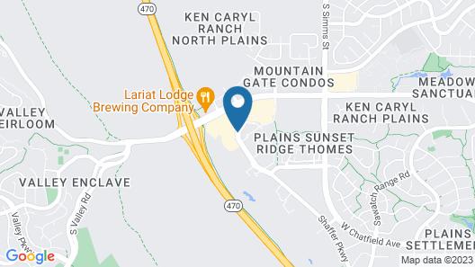 Hampton Inn & Suites Denver Littleton Map