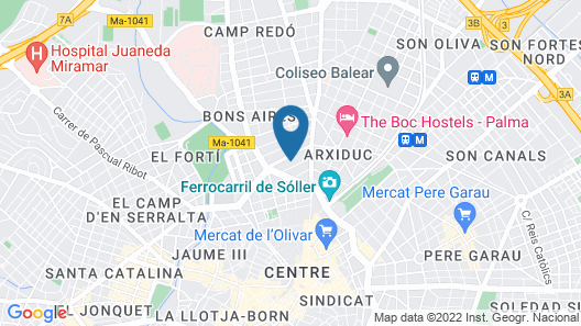 Ars Magna Bleisure Hotel Map