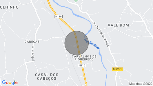 Rural Accommodation Situated Only 3 min From the Center of Tomar Map
