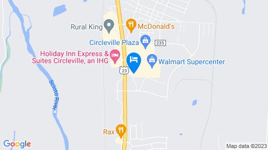 Hampton Inn Circleville Map