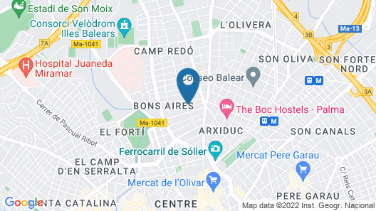 Hotel Abelux Map