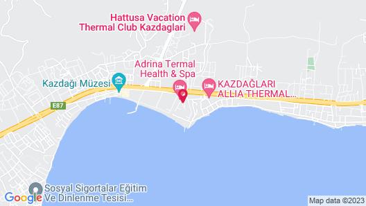 Adrina Termal Health & SPA Hotel Map