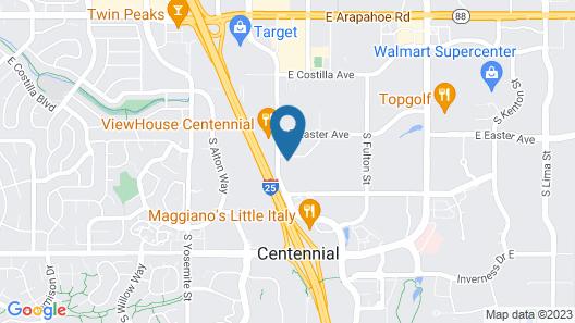 Staybridge Suites Denver Tech Center, an IHG Hotel Map