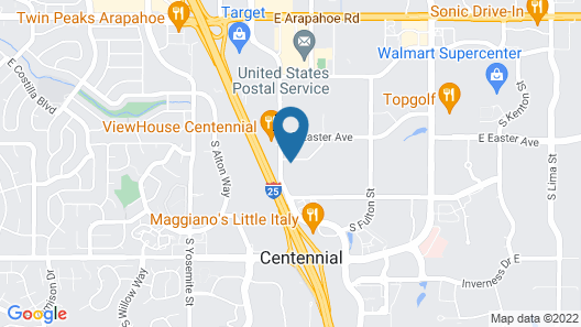 Staybridge Suites Denver Tech Center Map