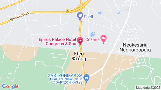 Epirus Palace Congress & Spa Map