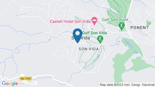 Villa Son Vida Home and Golf Map