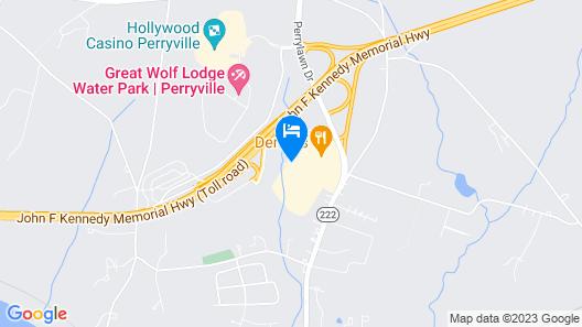 Days Inn by Wyndham Perryville Map