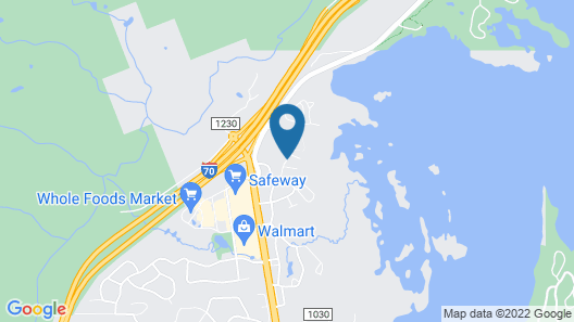 Timberline Cove by Bighorn Rentals Map