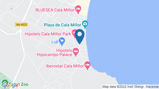 Hipotels Flamenco Map