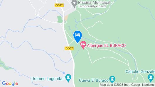 Complejo Rural El Buraco Map