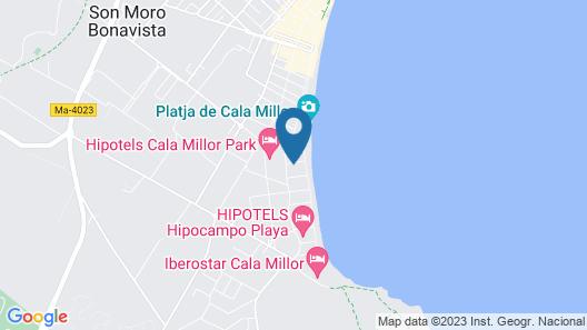 Protur Playa Cala Millor Hotel Map