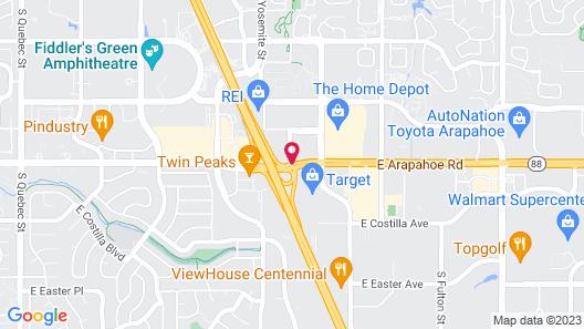 La Quinta by Wyndham Denver Englewood Tech Center Map