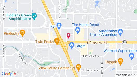 Motel 6 Greenwood Village, CO - Denver - South Tech Center Map