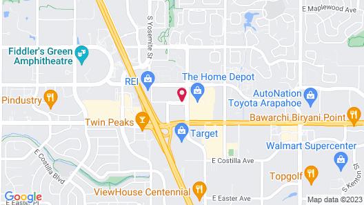 Courtyard by Marriott Denver Tech Center Map