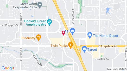 Residence Inn by Marriott Denver Tech Center Map