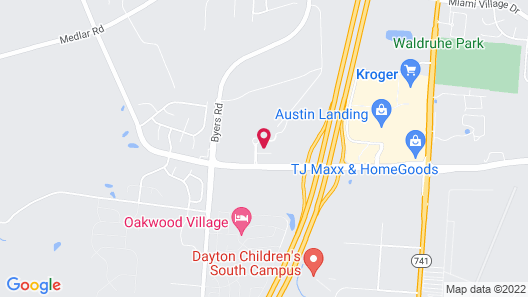 Home2 Suites by Hilton Dayton South Map