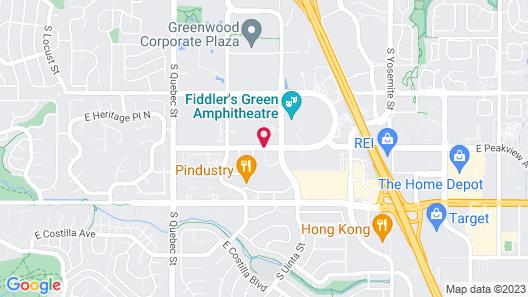 Wingate by Wyndham Greenwood Village/Denver Tech Map