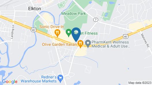 New Eastern Inn Map