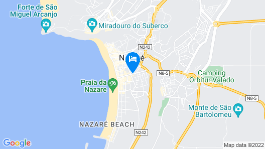 Hotel Praia Map