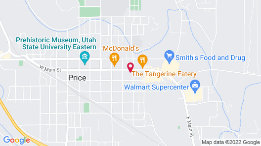 Quality Inn Price Gateway to Moab National Parks Map