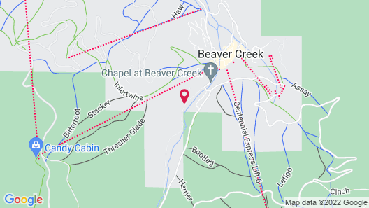 The Osprey at Beaver Creek, A RockResort Map