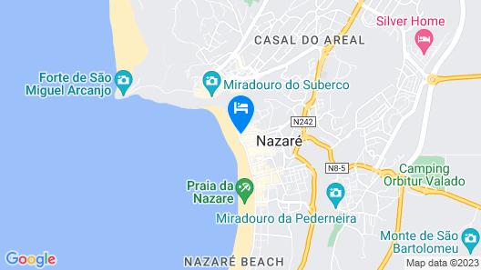 Hotel Mar Bravo Map