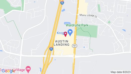 Hilton Garden Inn Dayton South-Austin Landing Map