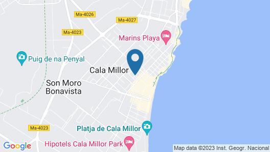 Hotel Ilusion Vista Blava Map
